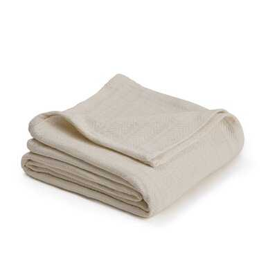 Vellux Woven Cotton Blanket - AllModern
