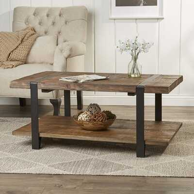 Tinley Coffee Table with Storage - Birch Lane