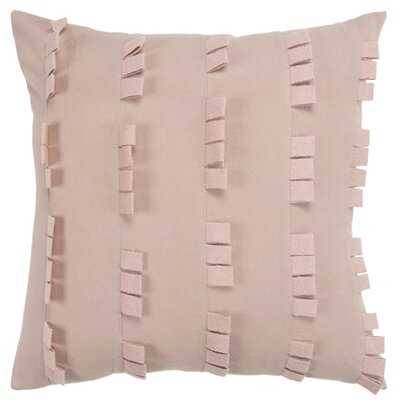 Square Cotton Pillow Cover & Insert - Wayfair