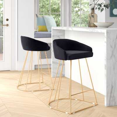 "Cortez 25.5"" Counter Stool Set of 2 - Wayfair"