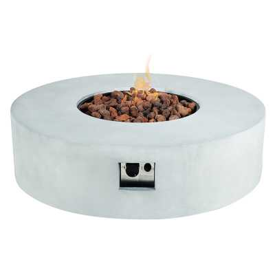 AMA Concrete Propane Fire Pit Table Insert - Perigold