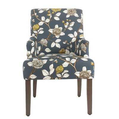 Jerrell Cotton Upholstered Arm Chair - Wayfair