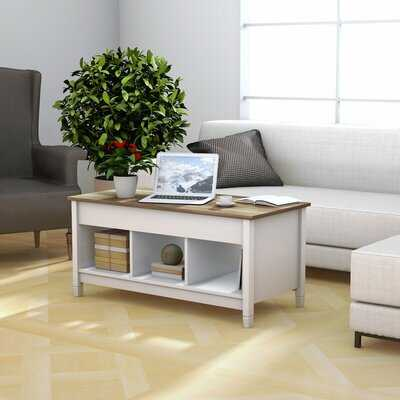 Clower Lift Top Coffee Table with Storage - Wayfair