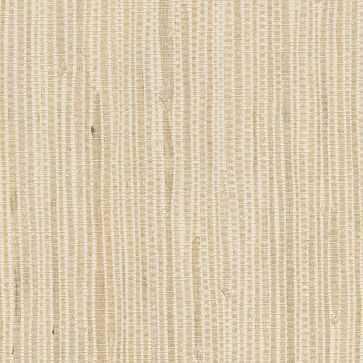 Kostya Cream Grasscloth Wallpaper - West Elm