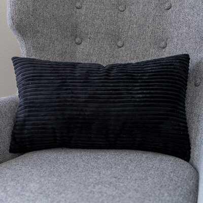 Nodaway Velvet Lumbar Pillow Cover - Wayfair