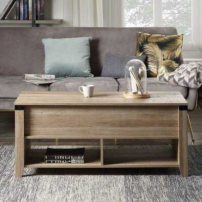 Fulop Lift Top 4 Legs Coffee Table with Storage - Wayfair