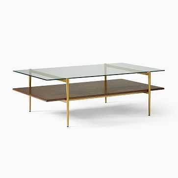 "Art Display Coffee Table, 52"", Wood - West Elm"