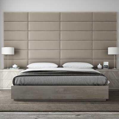 Bernardsville Upholstered Panel Headboard - AllModern