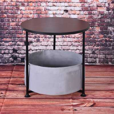 Harees 3 Legs End Table with Storage - Wayfair
