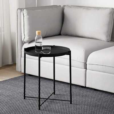 Chaskel Tray Top End Table - Wayfair