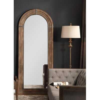 Sasha Wooden Rustic Beveled Full Length Mirror - Wayfair