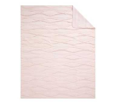 Wave Quilt, Full/Queen, Pink - Pottery Barn Kids