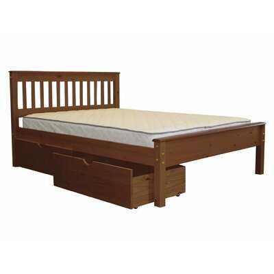 Treva Full Slat Bed with Drawers - Wayfair
