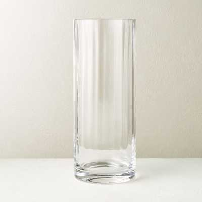 Sophia Clear Glass Vase - CB2