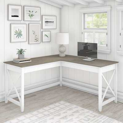 Cyra L-Shape Desk - Wayfair