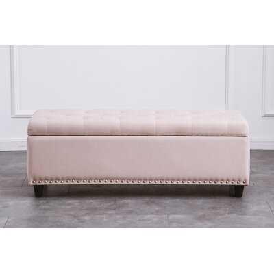 Kidron Upholstered Flip Top Storage Bench - Wayfair