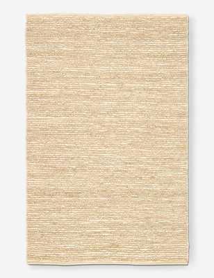 Hudson Woven Jute Rug, Natural 8' x 10' - Lulu and Georgia