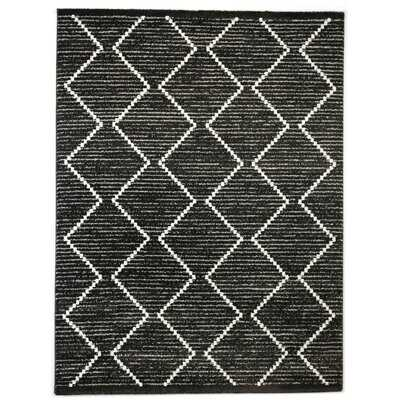 Hawthorne Geometric Black Area Rug - Wayfair
