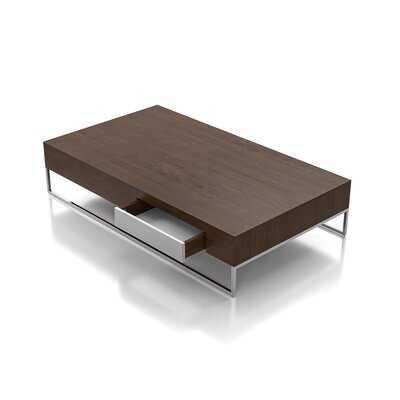 Busick Sled Coffee Table with Storage - Wayfair