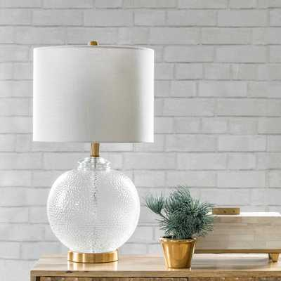 "Elmira 23"" Glass Table Lamp - Loom 23"