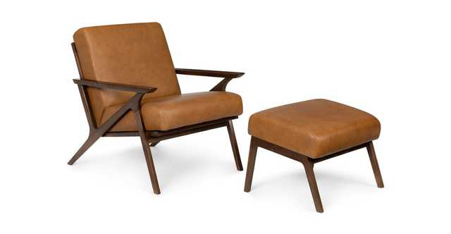 Otio Toscana Tan Walnut Lounge Set - Article