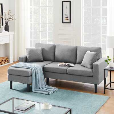 "Dower 77.16"" Wide Reversible Sofa & Chaise - Wayfair"