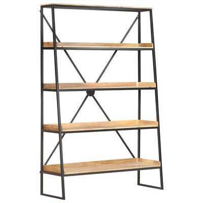 """Martique 70.9"""" H Iron Etagere Bookcase - Wayfair"""