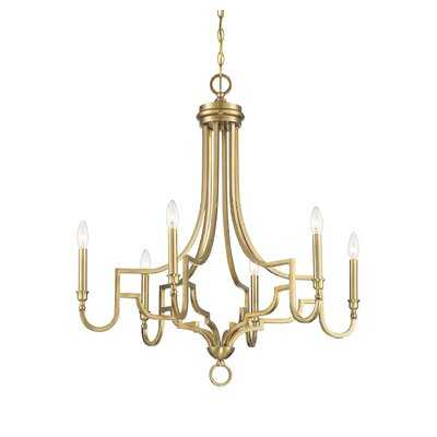 Catria 6 - Light Candle Style Empire Chandelier - Wayfair