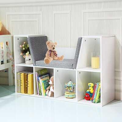 """Gethyn 25"""" H x 40.5"""" W Cube Bookcase - Wayfair"""