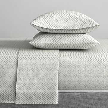 Organic Harmony Sheet Set, Full, Washed Gemstone - West Elm