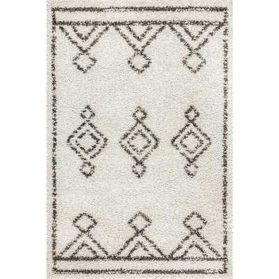 nuLOOM Mira Diamond Drop Moroccan Off White 10 ft. 2 in. x 14 ft. Area Rug - Home Depot