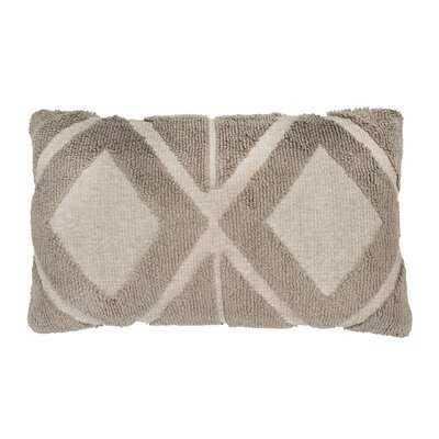 Ridley Geometric Lumbar Pillow - AllModern