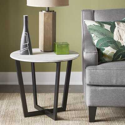Colita Cross Legs End Table - Wayfair