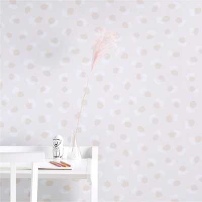 Chasing Paper Spotted Removable Wallpaper - Crate and Barrel
