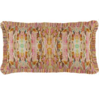 Pine Cone Hill Linen Abstract Lumbar Pillow - Perigold