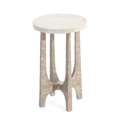 John-Richard Marble Top End Table - Perigold