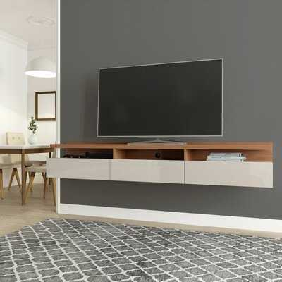 """Julius Floating TV Stand for TVs up to 75"""" - Wayfair"""