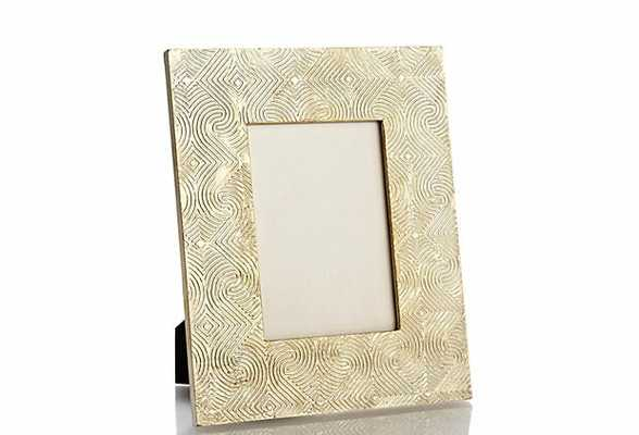 Sivaana Squares/Curves Picture Frame - Perigold