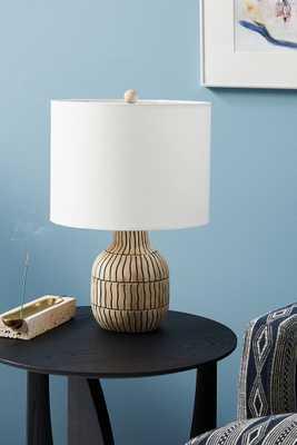 Zoya Table Lamp - Anthropologie