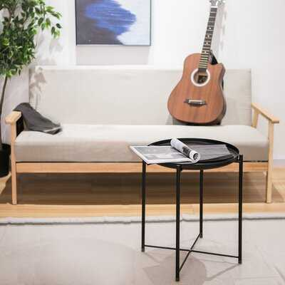 Tray Top Cross Legs End Table Set - Wayfair