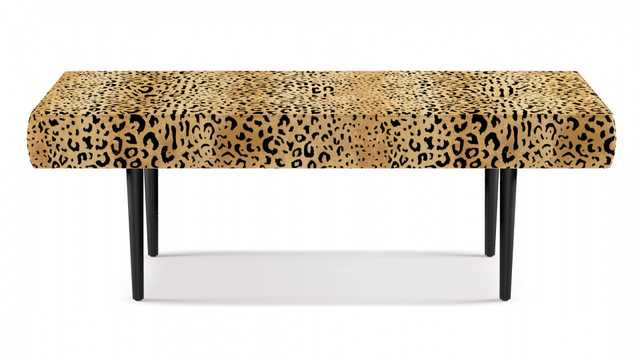 Mid-Century Bench | Leopard - The Inside