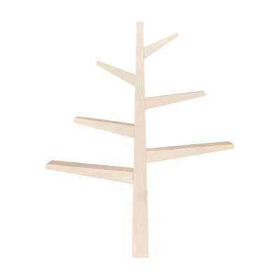"""Spruce Tree 51"""" Bookcase Color: Washed Natural - Perigold"""