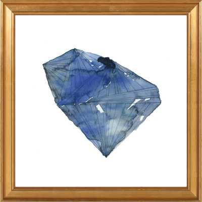 Benitoite by Naomi Ernest for Artfully Walls - Artfully Walls