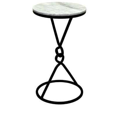 Cerelia Marble End Table - Wayfair