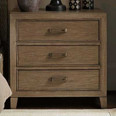 Cypress Point 3 Drawer Bachelor's Chest - Wayfair