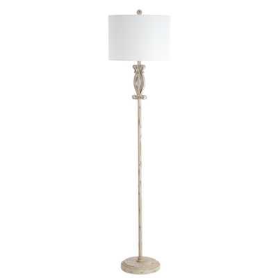 Philippa Floor Lamp - White Washed - Arlo Home - Arlo Home