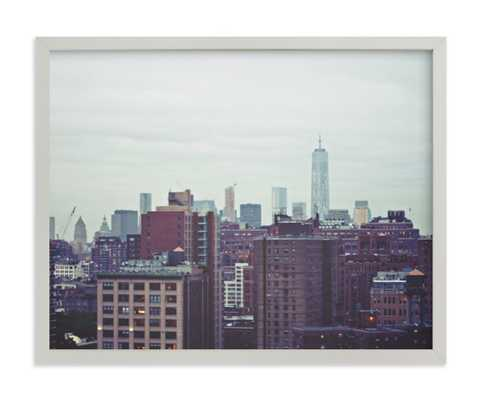 Rainy Day In The City Art Print - Minted