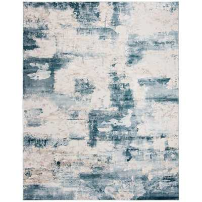 Safavieh Vogue Beige/Turquoise 9 ft. x 12 ft. Area Rug - Home Depot