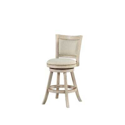 Tressie Swivel Bar & Counter Stool - Wayfair
