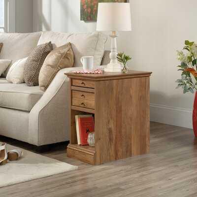 Schuetz Floor Shelf 2 Drawer End Table - Wayfair